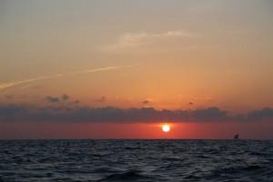 Fishermen Boat Sunrise